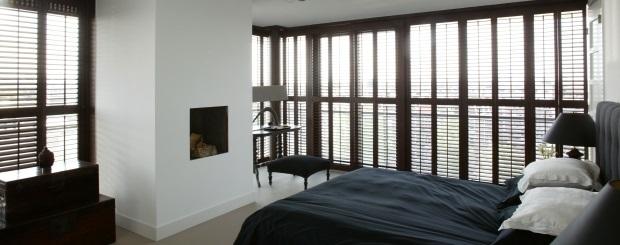 Jasno shutters zijn leverbaar in vele lak en beitskleuren